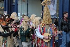 Fingal Mummers in procession at the 2nd Bath International Mummers Festival, 17th November 2012.